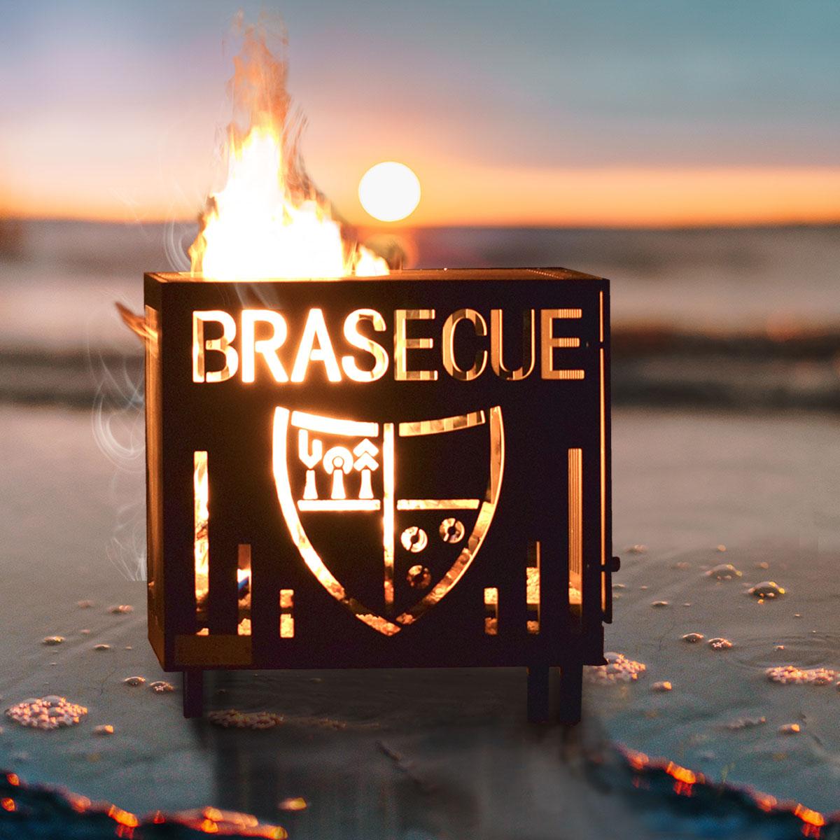 brasero de luxe sur la plage - brasecue