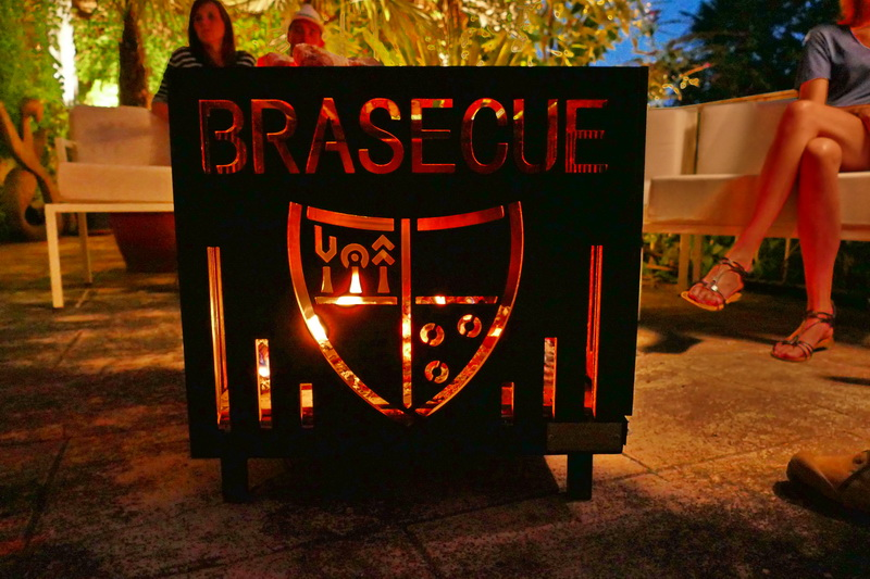 the meeting of a BBQ and a brazier - le brasecue